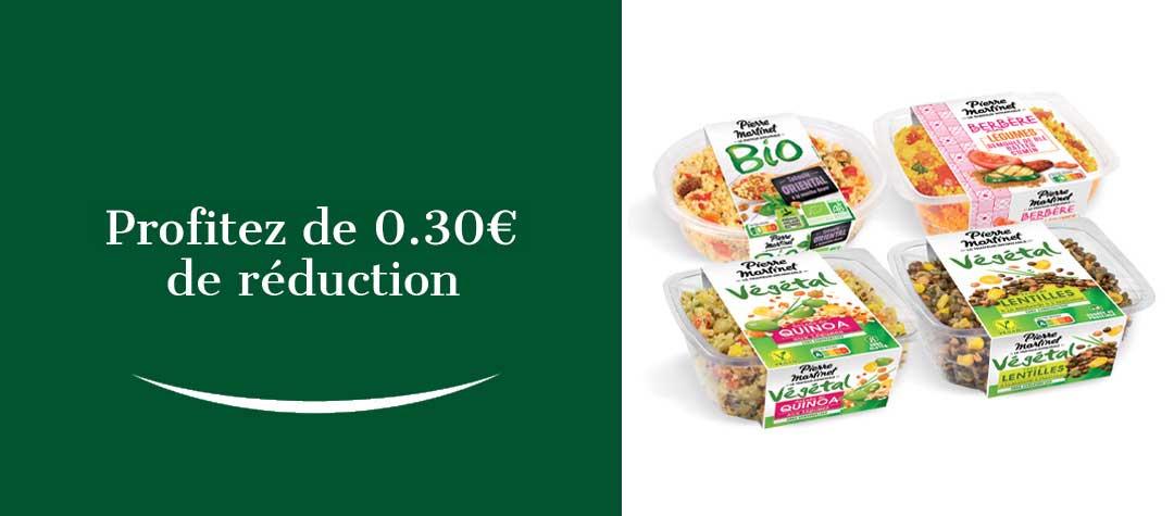 Profitez de 0.50€ de réduction
