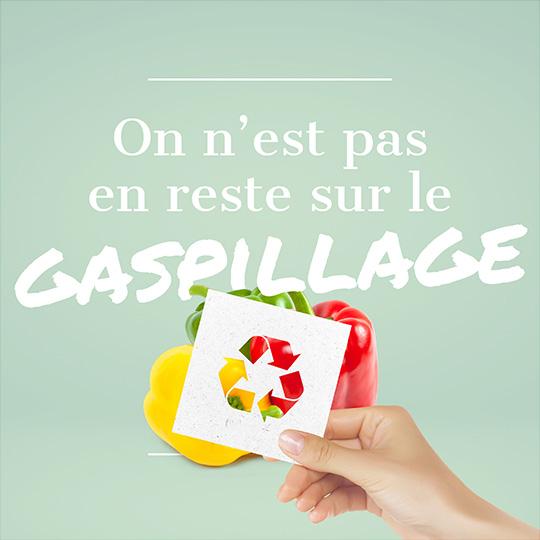 Lutte contre le gaspillage industriel
