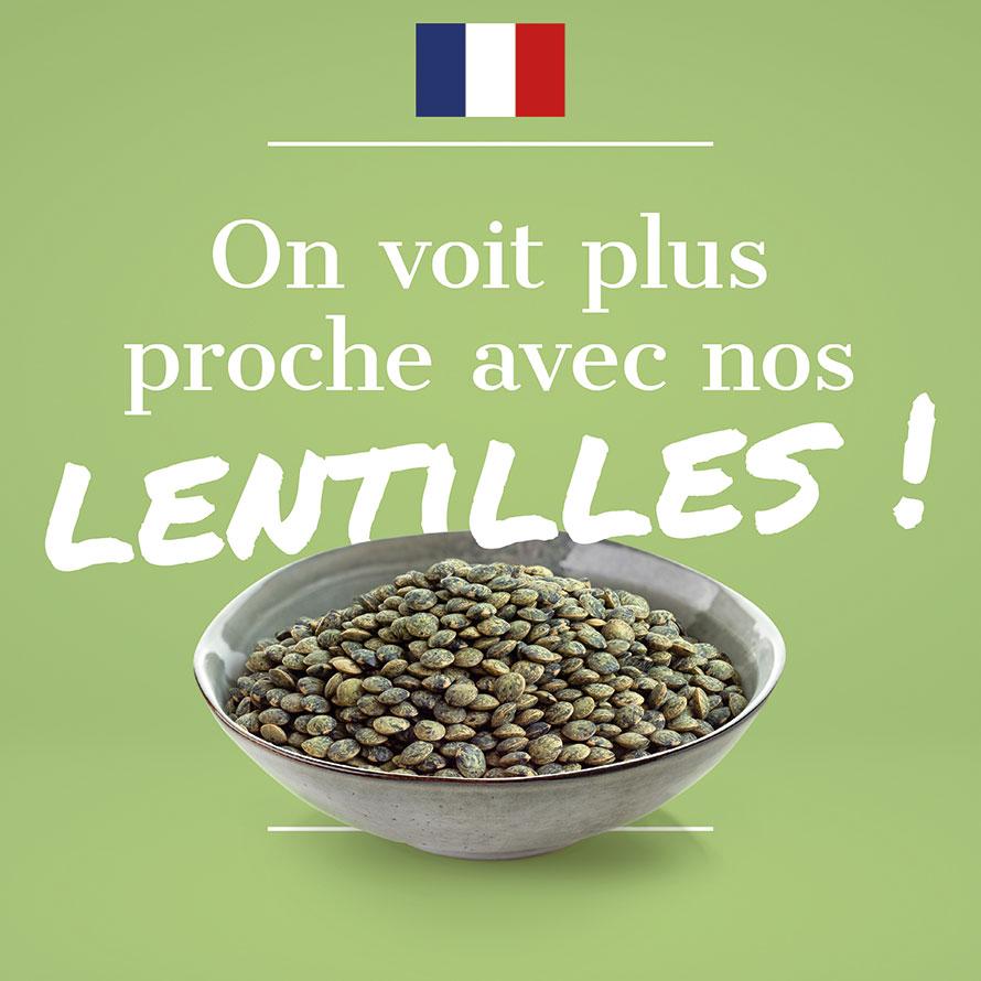 Lentilles Françaises