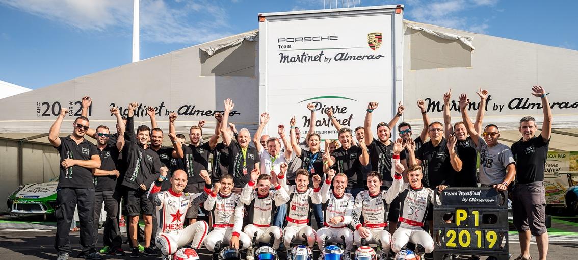 Champion Porsche Carrera Cup France !