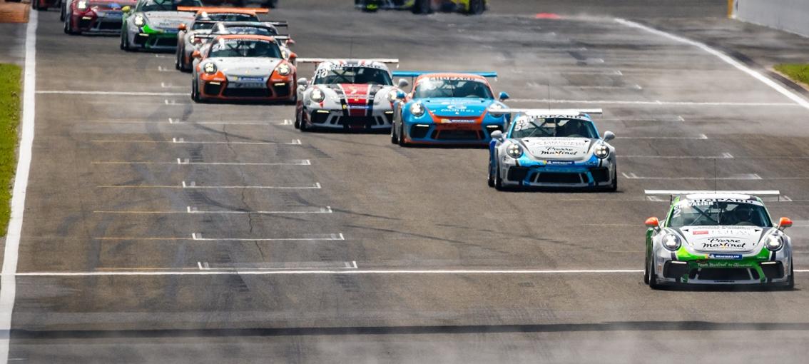 Résultats Porsche Carrera Cup 02-04 mai SPA