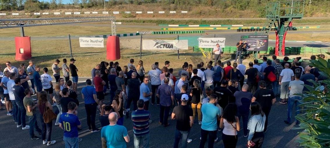 Trophée Karting session de septembre !