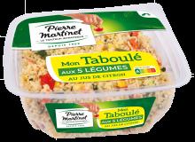 Taboulé aux 5 Légumes