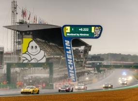 Güven sur le podium de la Porsche Carrera Cup Le Mans
