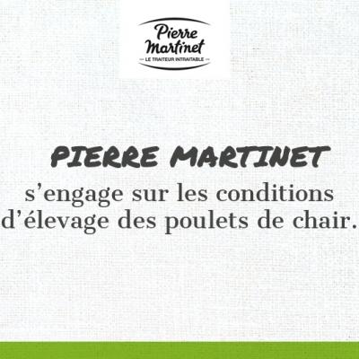Pierre Martinet s'engage pour les conditions d'élevage des poulets de chair