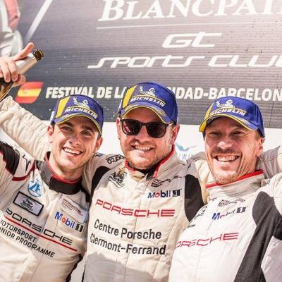 Résultats course Porsche Carrera Cup Barcelone !