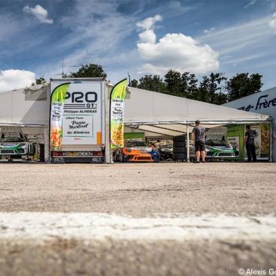 Diffusion de la Porsche Carrera Cup France à Dijon