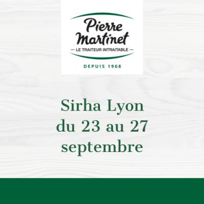 Pierre Martinet au Sirha 2021 !