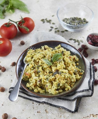 Salade de Boulghour aux Cranberries & Noisettes