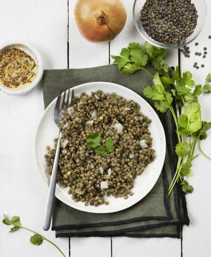 Salade de Lentilles à la lyonnaise