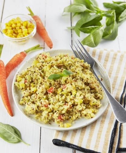 Salade de Quinoa aux légumes