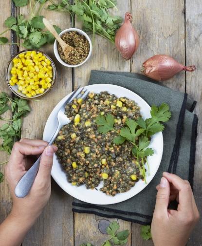 Trio de Lentilles à la moutarde à l'ancienne
