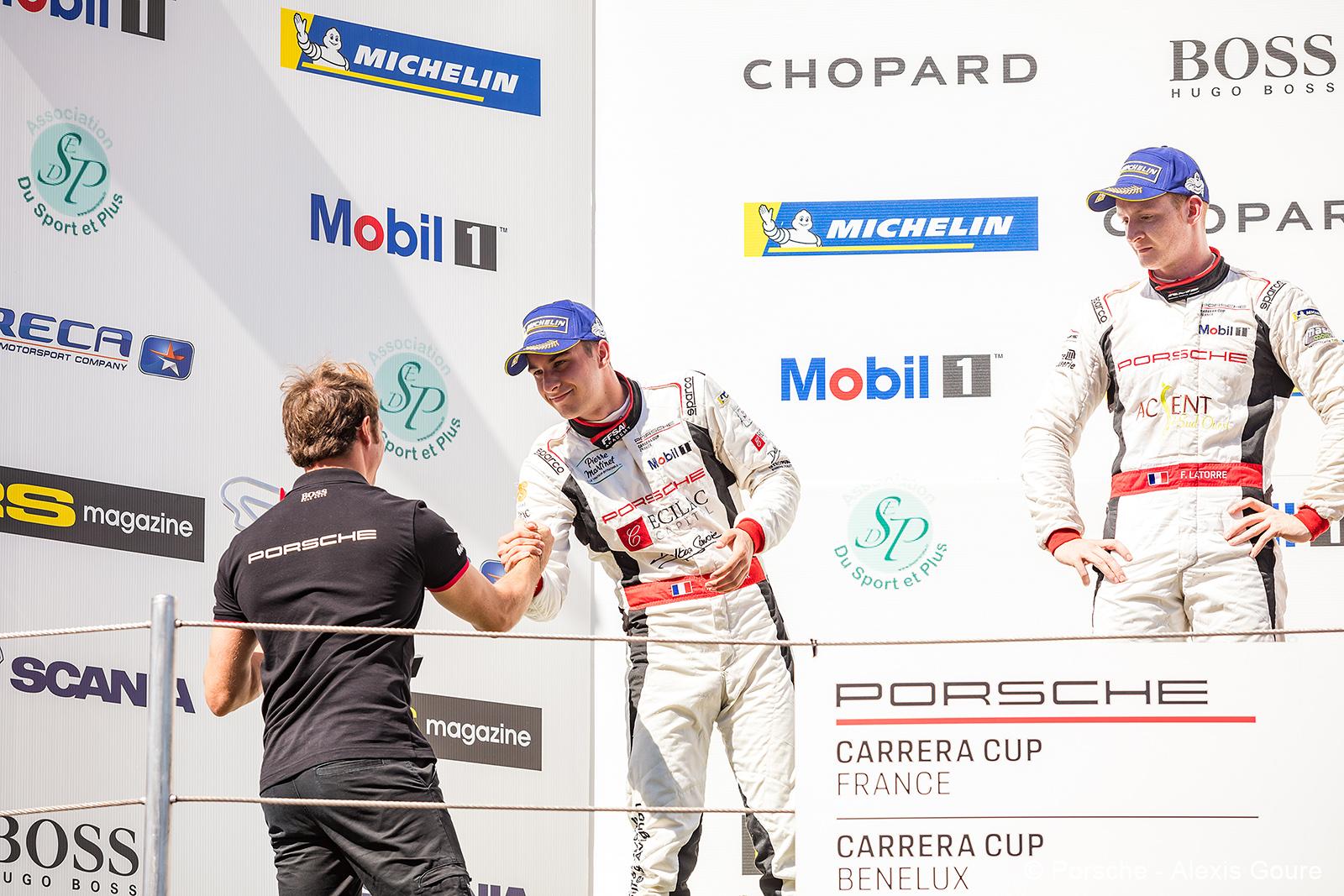 Résultats Porsche Carrera Cup Barcelone !