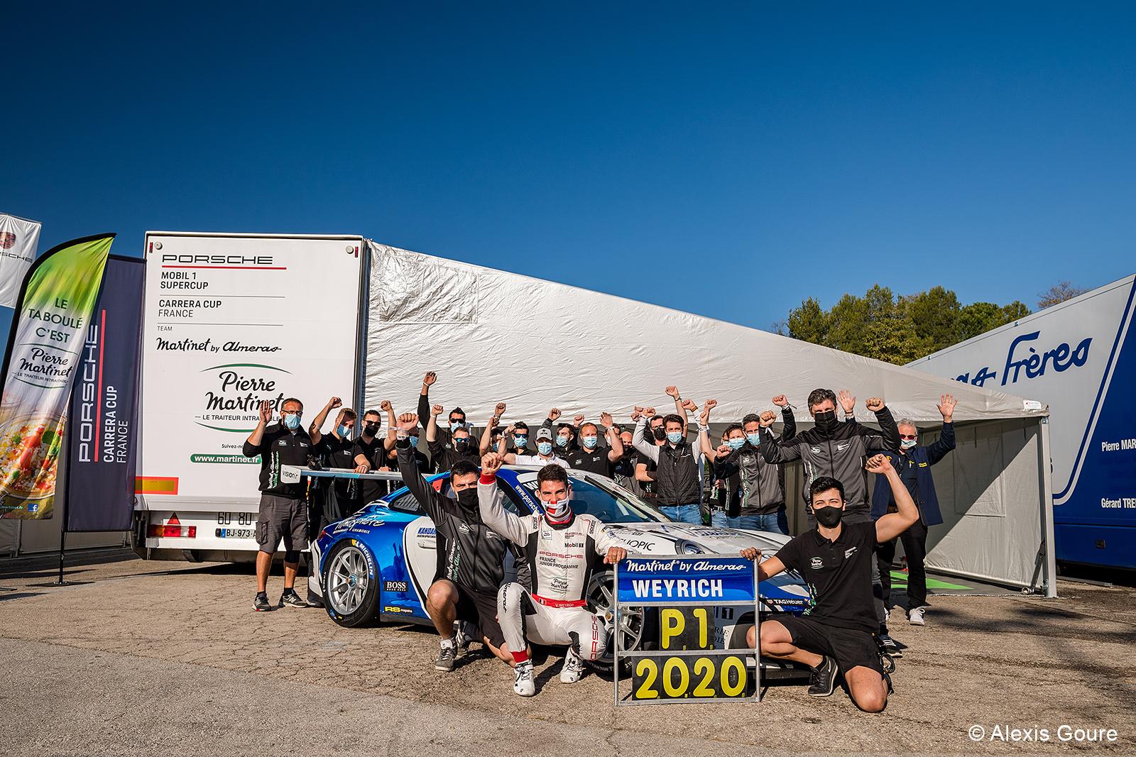 Le premier sacre de Victor Weyrich en Carrera Cup France