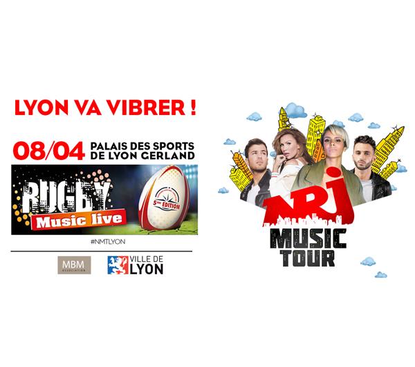 Pierre Martinet : Partenaire du NRJ Rugby Music Live !